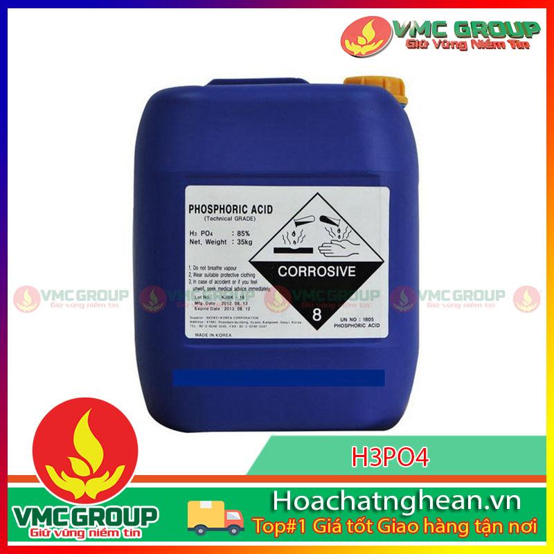 BÁN H3PO4 – PHOSPHORIC ACID 85%- HCNA
