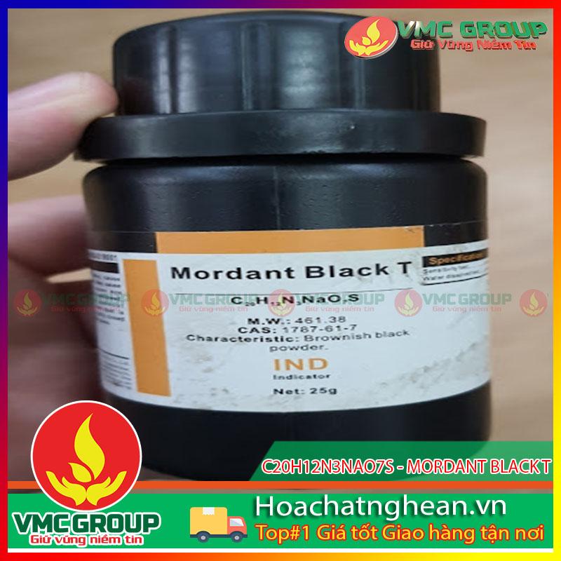 C20H12N3NAO7S - MORDANT BLACK T- HCVMNA
