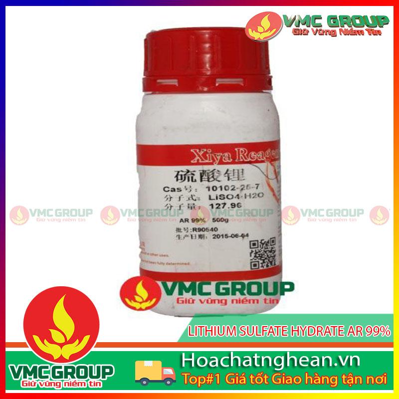 LITHIUM SULFATE HYDRATE AR 99% - Li2SO4•H2O