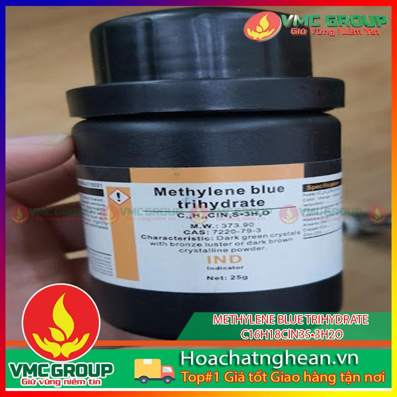 METHYLENE BLUE TRIHYDRATE - C16H18ClN3S•3H2O HCVMNA