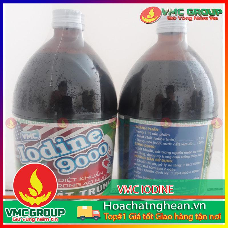 HÓA CHẤT THỦY SẢN VMC IODINE 9000 - HCNA