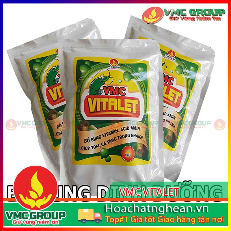 BÁN HÓA CHẤT THỦY SẢN VMC VITALET - BỔ SUNG DINH DƯỠNG TÔM CÁ - HCNA