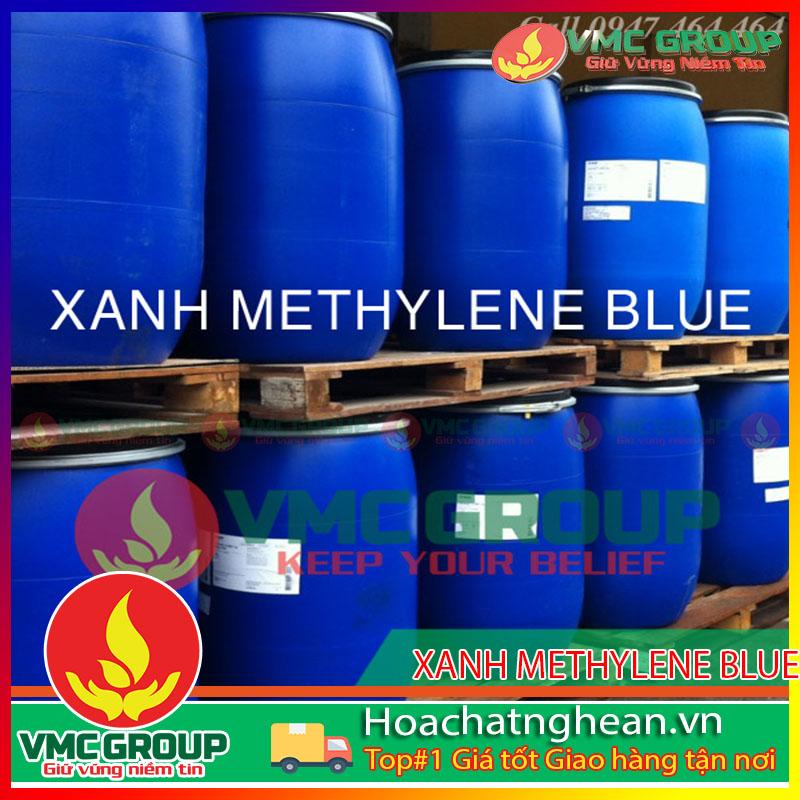 BÁN XANH METHYLENE BLUE - C16H18N3SCl HCNA