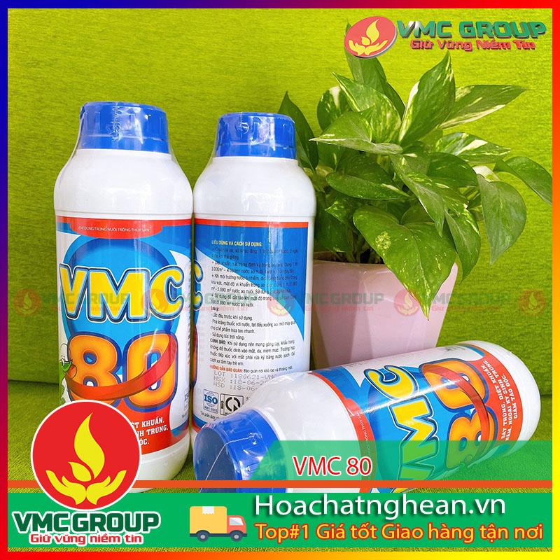 BÁN VMC 80- SÁT TRÙNG DIỆT KHUẨN AO NUÔI- HCNA
